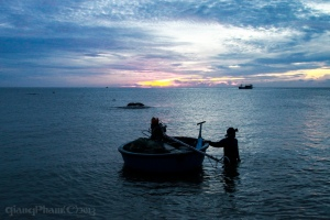 Sunrise at Ke Ga Lighthouse, Phan Thiet, Vietnam
